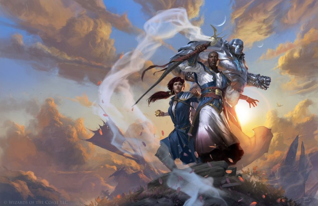 Dominaria key art by Tyler Jacobson