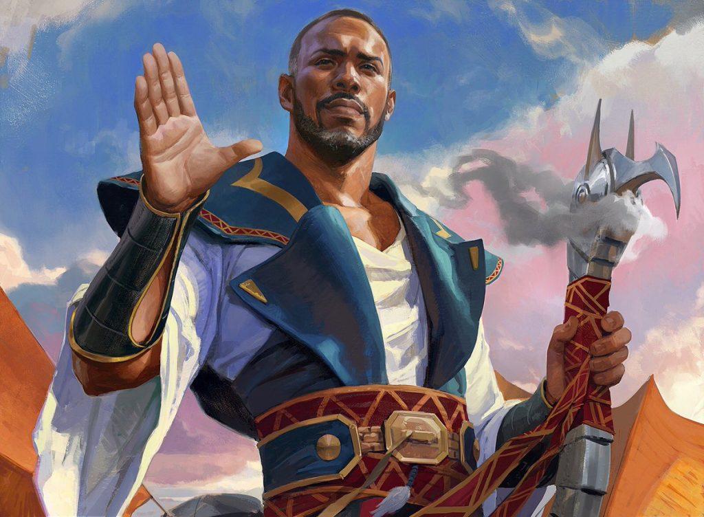 Oath of Teferi MTG card art by Wesley Burt