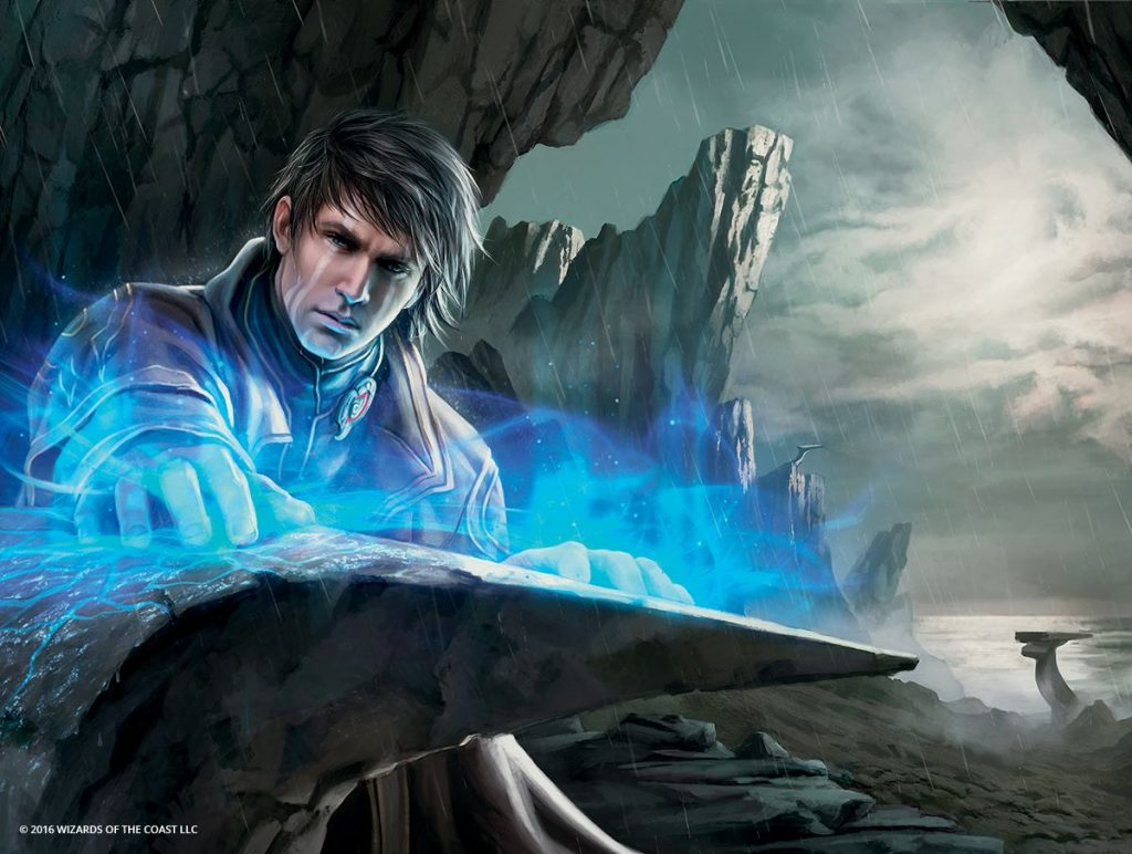 Pieces of the Puzzle MTG card art by Magali Villeneuve