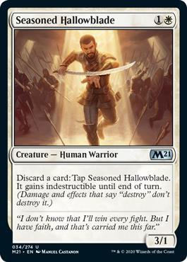Seasoned Hallowblade