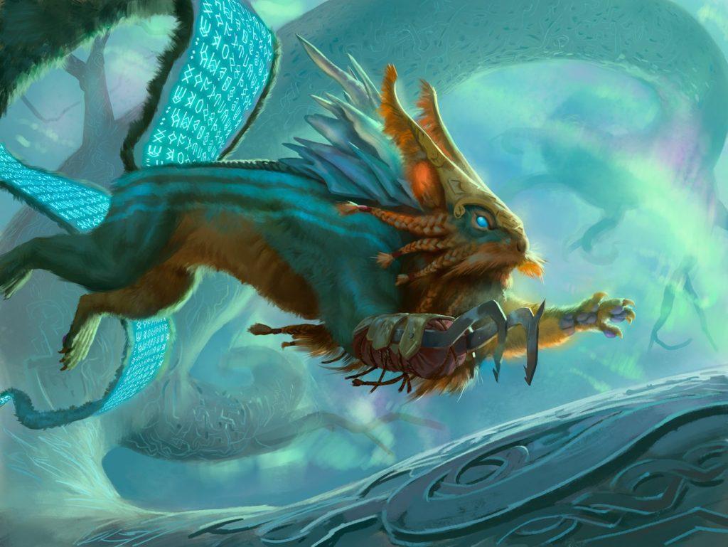 Toski, Bearer of Secrets - Illustration by Jason Rainville