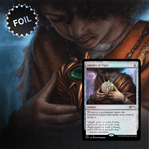 Amulet of Vigor Secret Lair