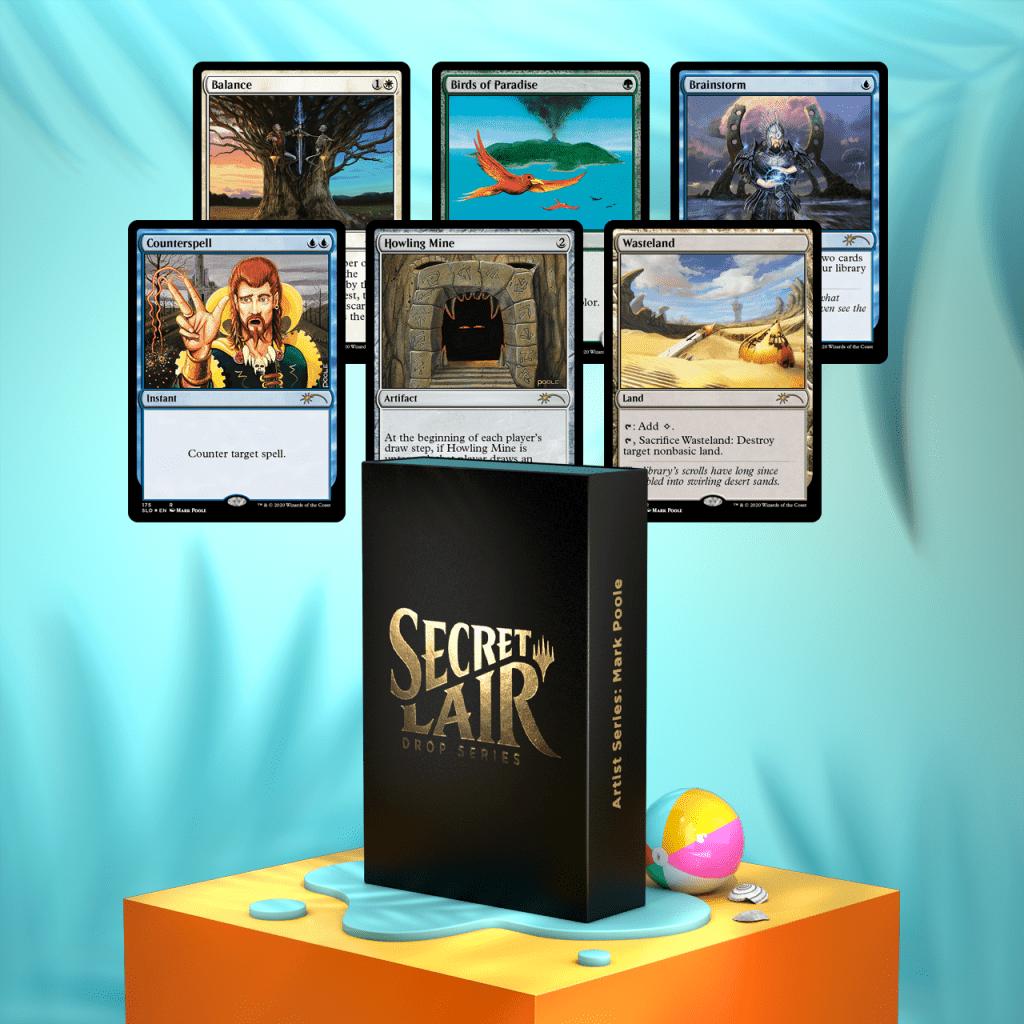 Secret Lair: Artist Series Mark Poole