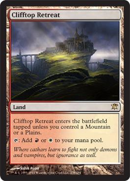 Clifftop Retreat Innistrad