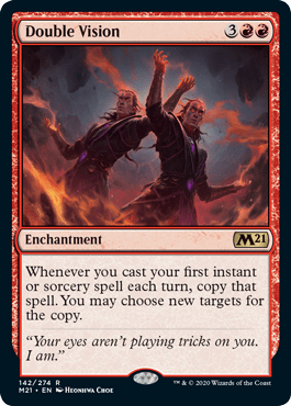 Double Vision MTG card