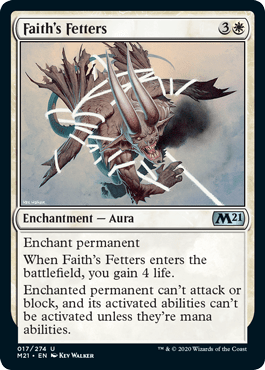 Faith's Fetters