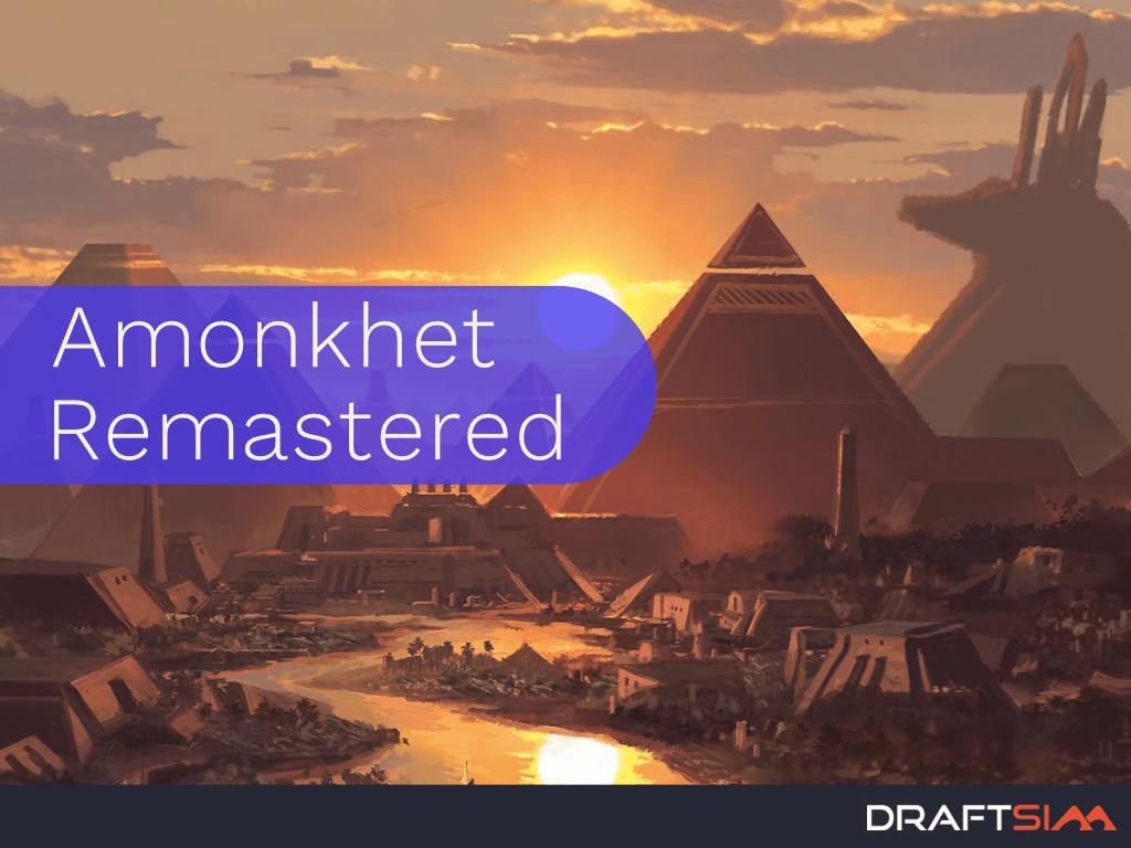 Mountain from Amonkhet MTG card art