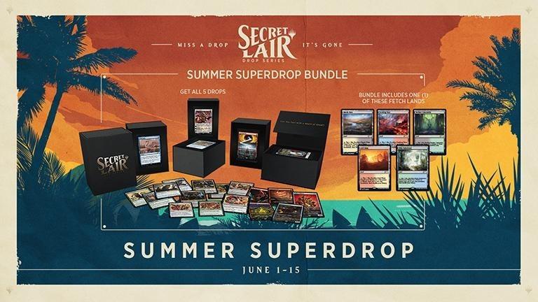 Summer Superdrop Bundle Secret Lair Drop
