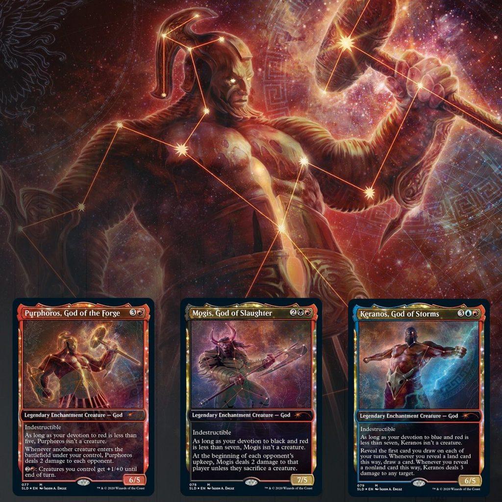 Theros Stargazing, Volume IV Purphoros Secret Lair Drop