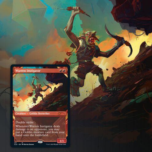 Showcase: Zendikar Revisited card Warren Instigator