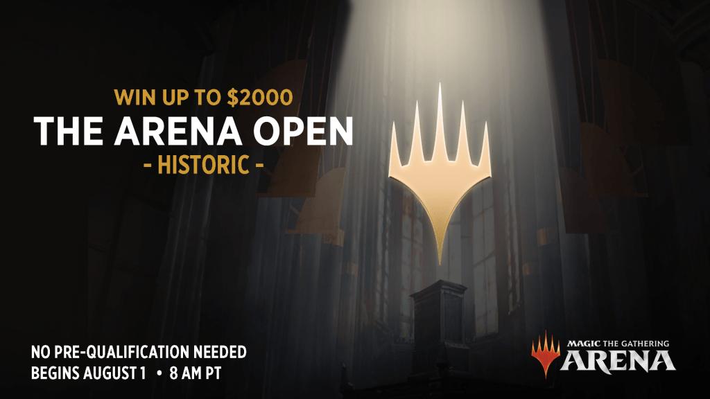 MTG Arena Open 2 advertisement