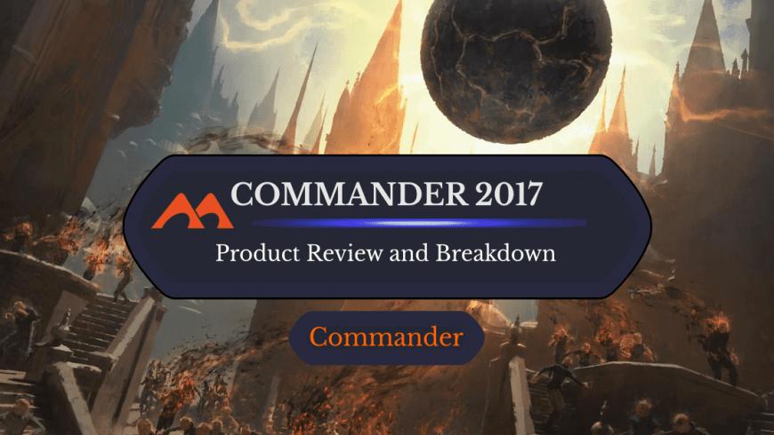 Commander 2017: Decks, Product, Breakdown, and Information