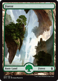 Battle for Zendikar Forest