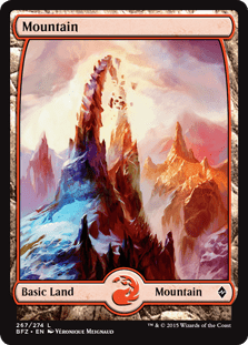 Battle for Zendikar Mountain