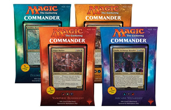 Commander 2017: Decks, Product, Breakdown, and Information