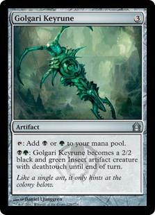 Golgari Keyrune
