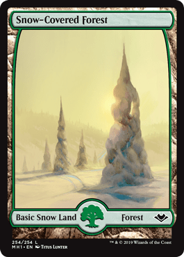 Modern Horizons Snow-Covered Forest