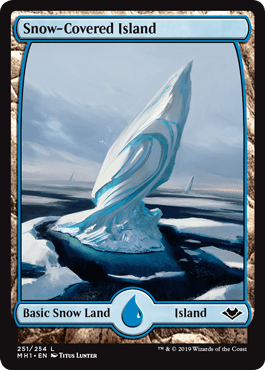 Modern Horizons Snow-Covered Island