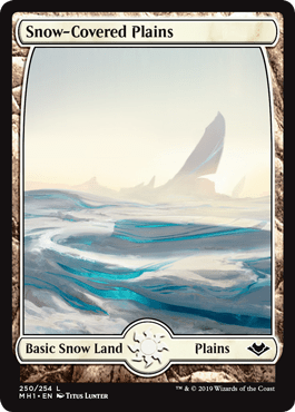 Modern Horizons Snow-Covered Plains