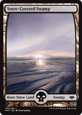 Modern Horizons Snow-Covered Swamp