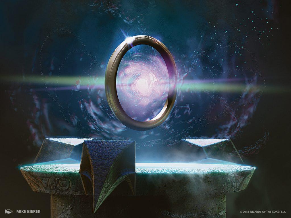 Sol Ring MTG card art by Mike Bierek