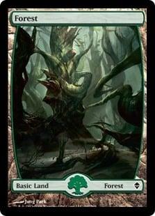 Zendikar Forest