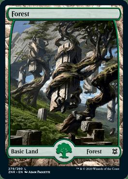 Zendikar Rising Forest