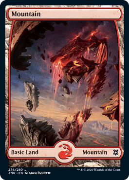 Zendikar Rising Mountain