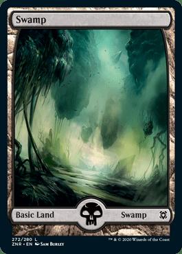 Zendikar Rising Swamp