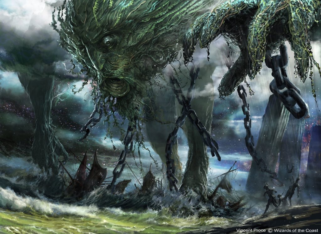 Uro, Titan of Nature's Wrath | Illustration by Vincent Proce