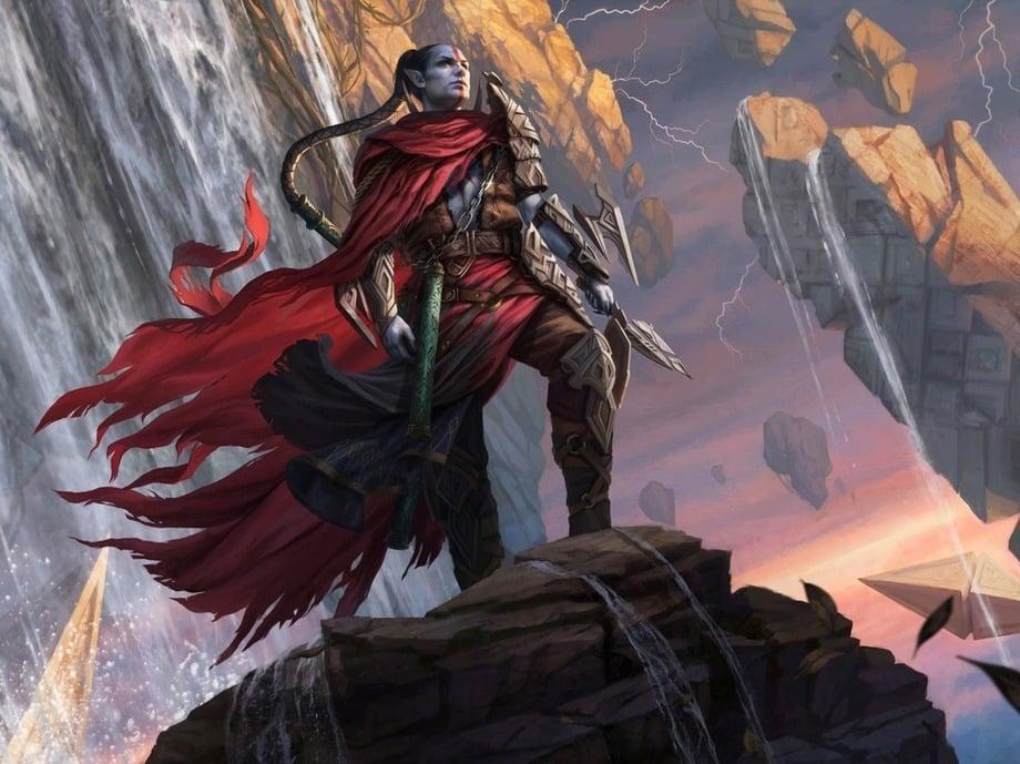Anowon, the Ruin Thief - Illustration by Magali Villeneuve