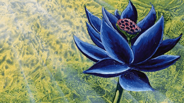 Black Lotus - Illustration by Christopher Rush