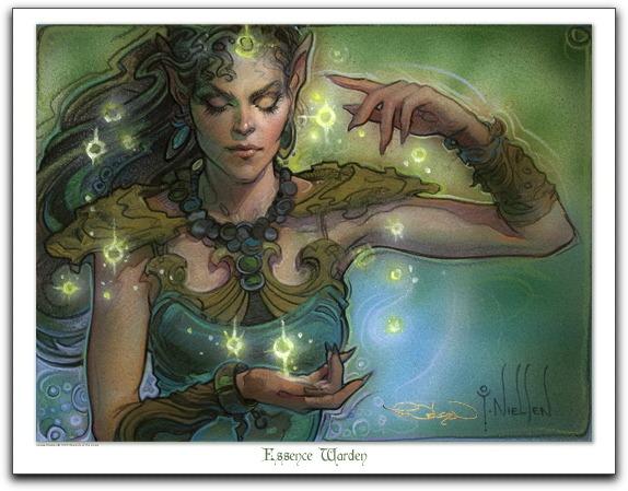 Essence Warden | Illustration by Terese Nielsen