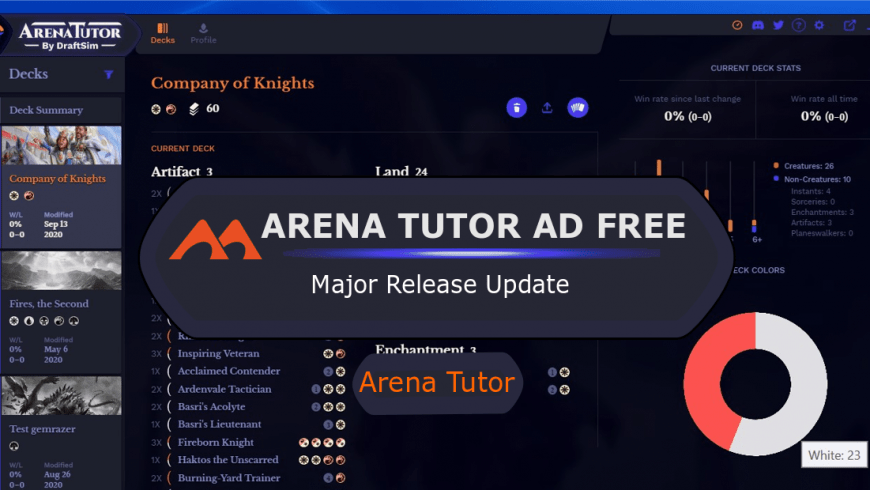 Arena Tutor – Now With No Ads!
