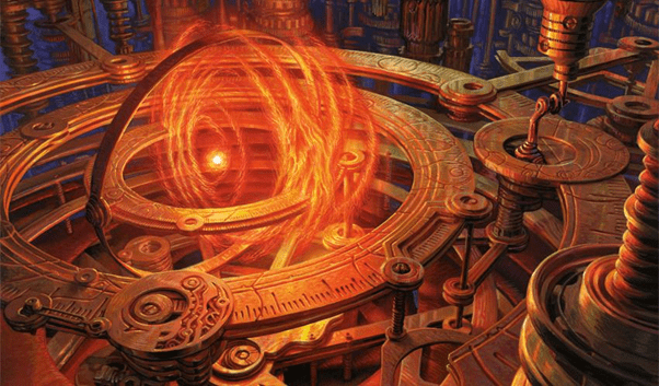 Sol Ring | Illustration by Mark Tedin