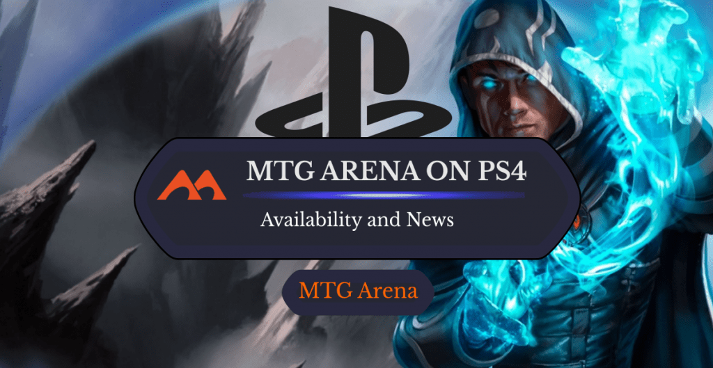 MTG Arena on PS4
