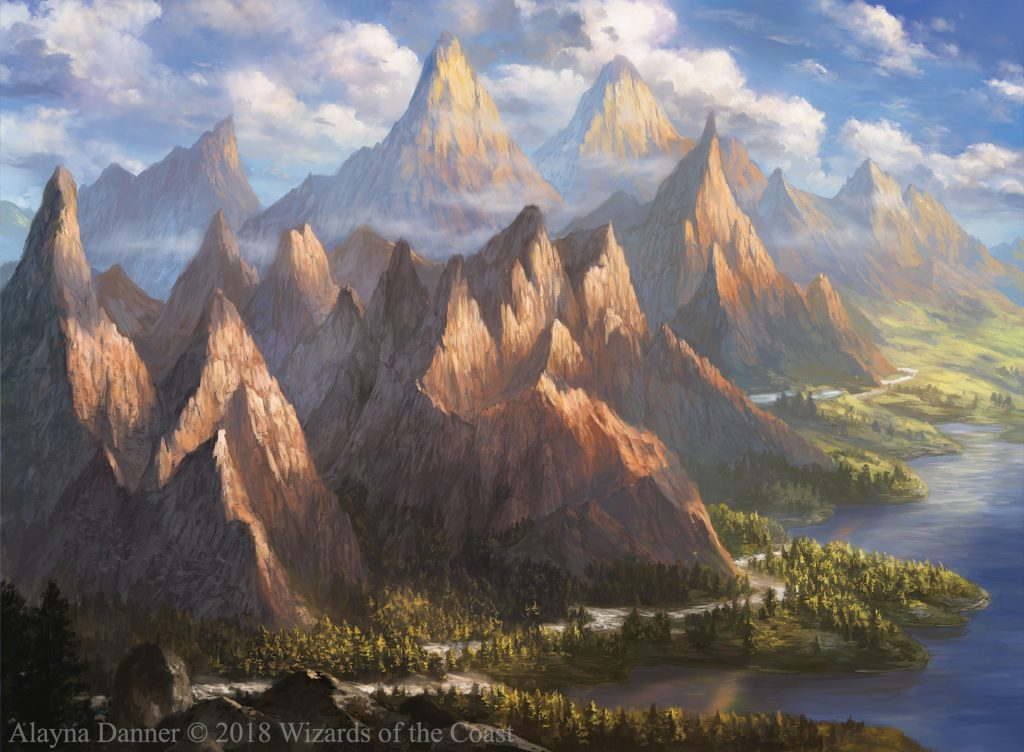 C19 Mountain by Alayna Danner