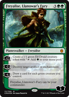 Freyalise, Llanowar's Fury