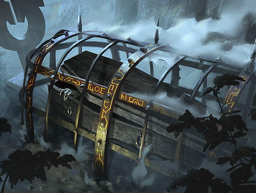 Grafdigger's Cage - Illustration by Daniel Ljunggren