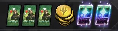 MTG Arena rewards