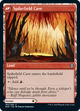 Spikefield Cave