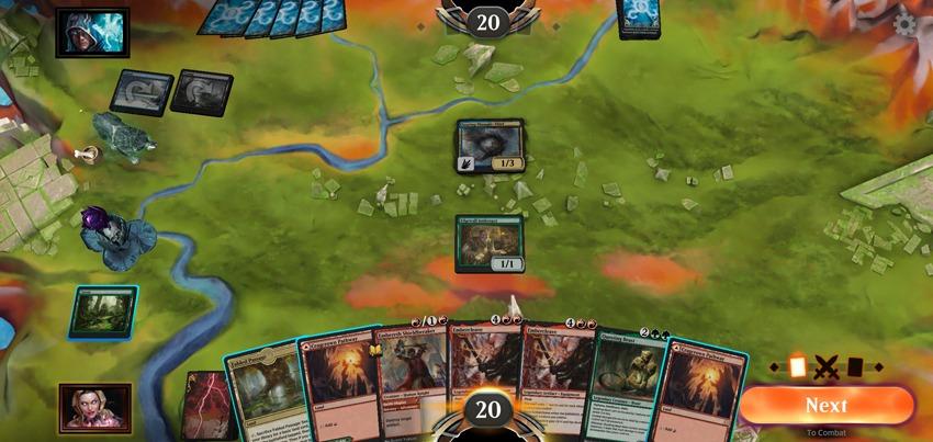 MTGA mobile battlefield