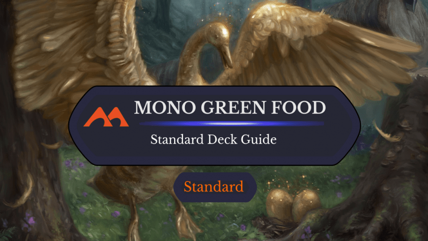 Deck Guide: Mono Green Food in Standard