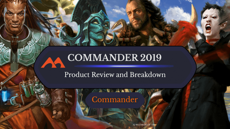 Commander 2019 Decks: Product Breakdown and Information