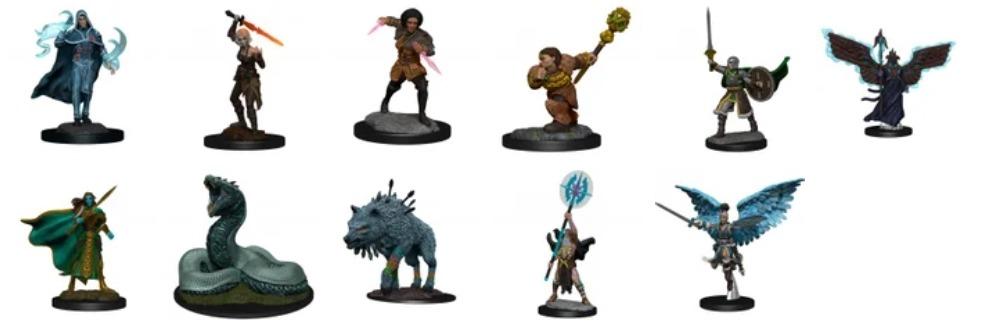 D&D mini figurines spoiled on Reddit