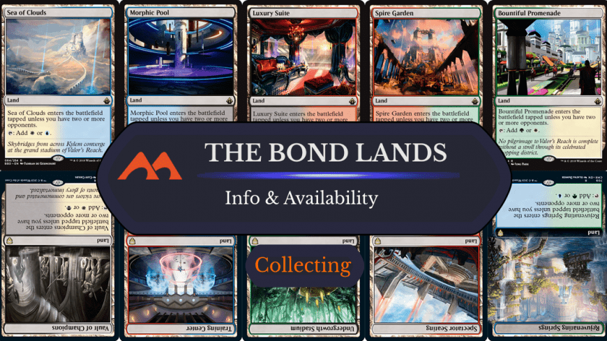 MTG Bond Lands: What Are They and Where Can You Find Them?
