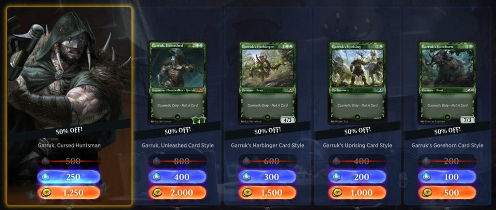 MTG Arena avatar daily deal