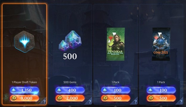 MTG Arena holiday daily deals