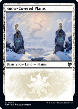 Snow-Covered Plains