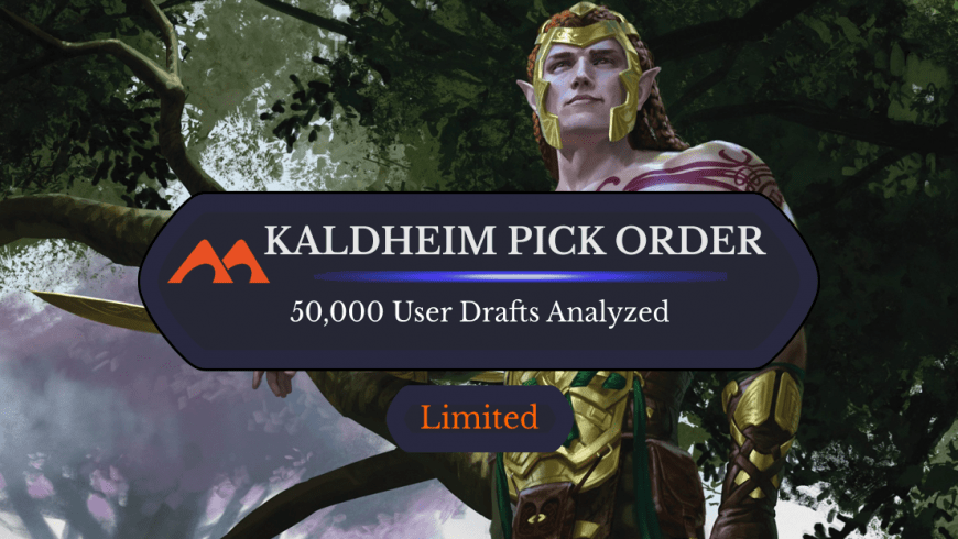 Draftsim's Early Pick Order For Kaldheim: 50,000 Drafts Analzyed